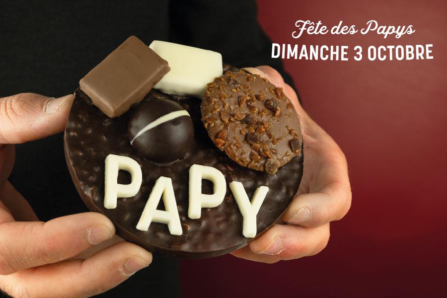 Fête des Grands-Pères : un cadeau chocolaté !