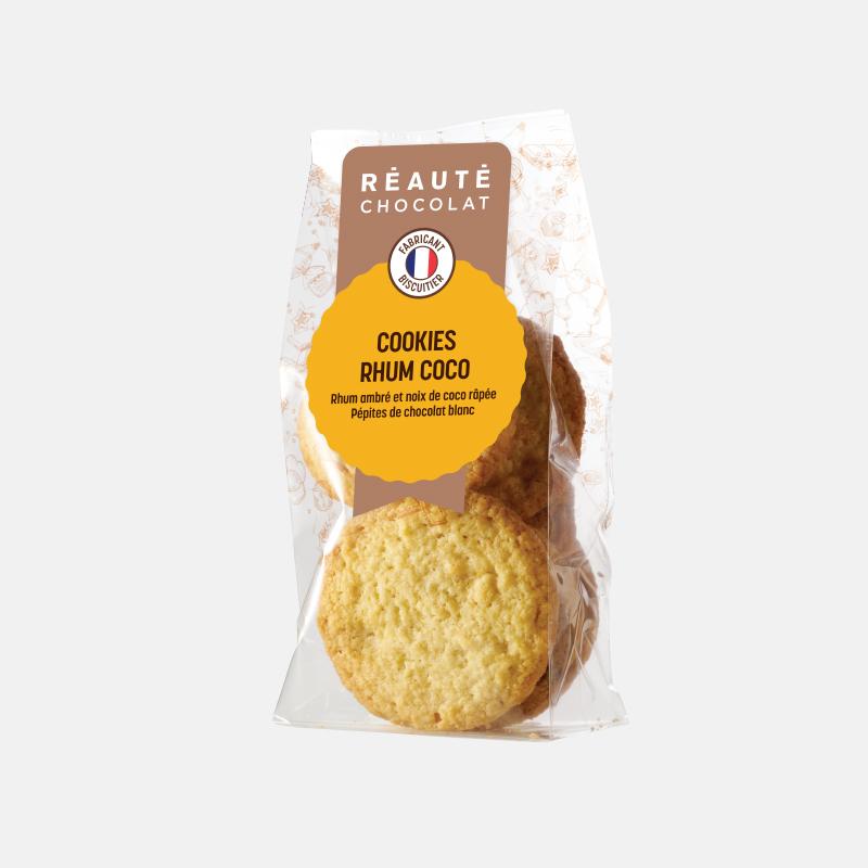 Cookies noix de coco rhum 100g