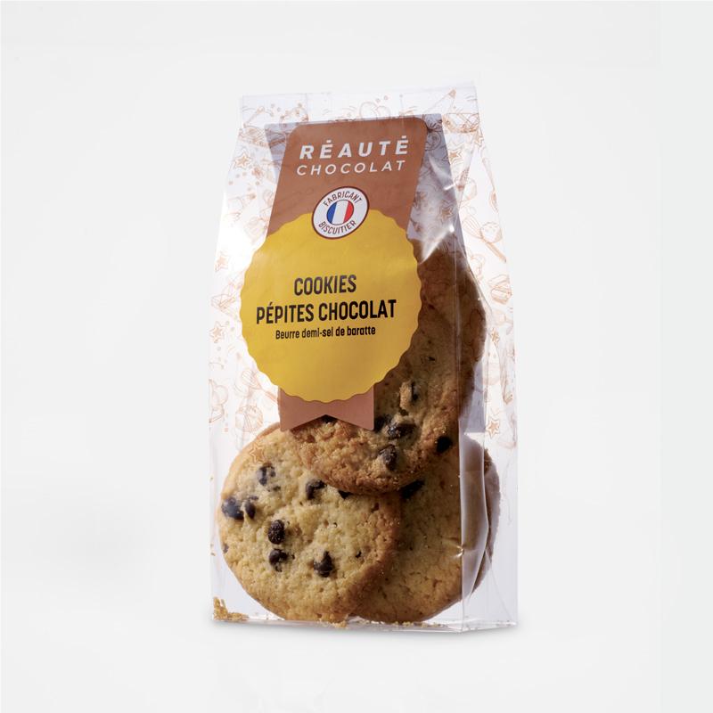 Cookies pépites chocolat noir 100g