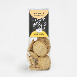 Biscuits salés emmental 110g