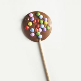 Sucette chocolat confettis 18g