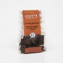 Crunchy gianduja noir 100g