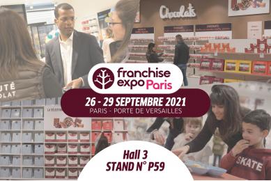 Réauté Chocolat vous accueille à Franchise Expo Paris 2021 !